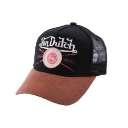 Casquette Trucker Von Dutch Pinup Noire CASQUETTES VON DUTCH
