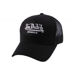Casquette Trucker Von Dutch Lof noire CASQUETTES VON DUTCH