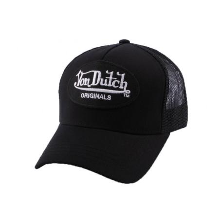Casquette Trucker Von Dutch Lof noire