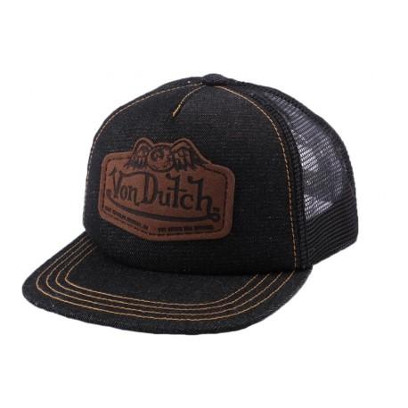 Casquette Trucker Von Dutch Den noire