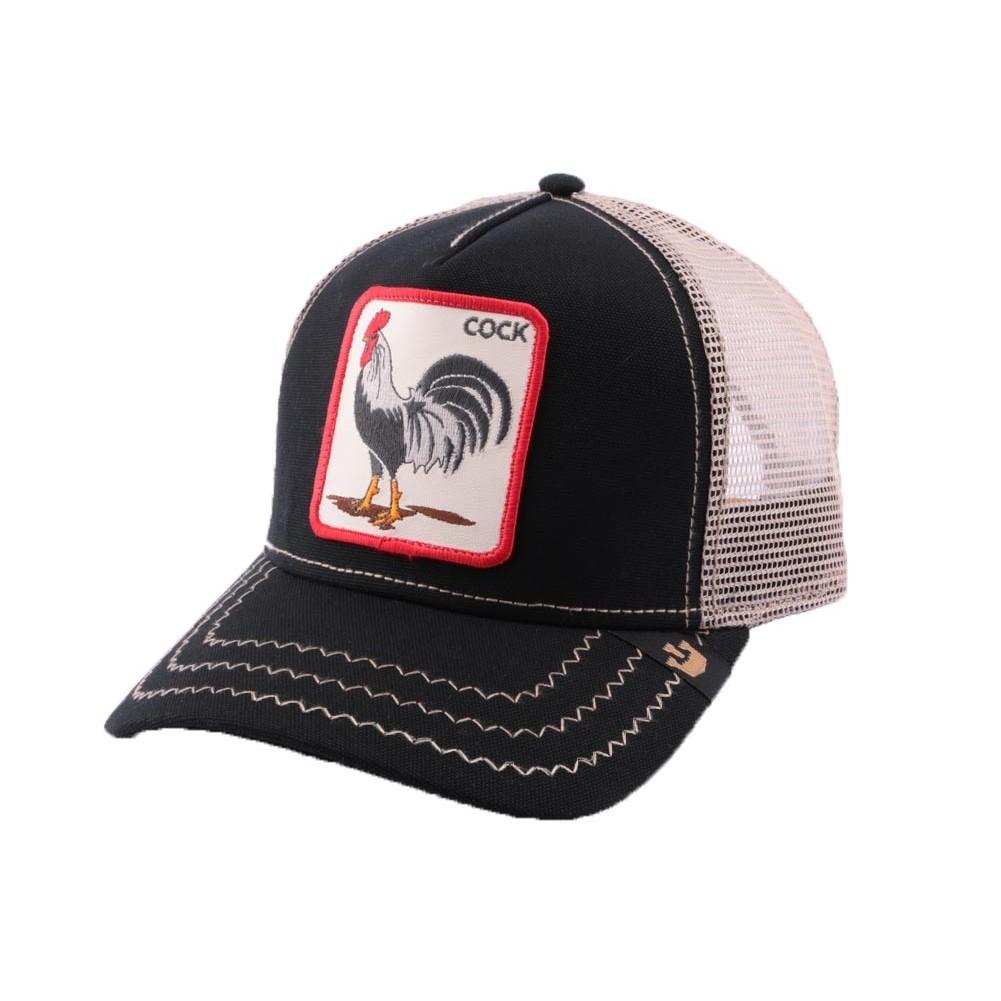 ab772b45 Casquette Trucker Goorin Bros Rooster Noire CASQUETTES GOORIN BROS