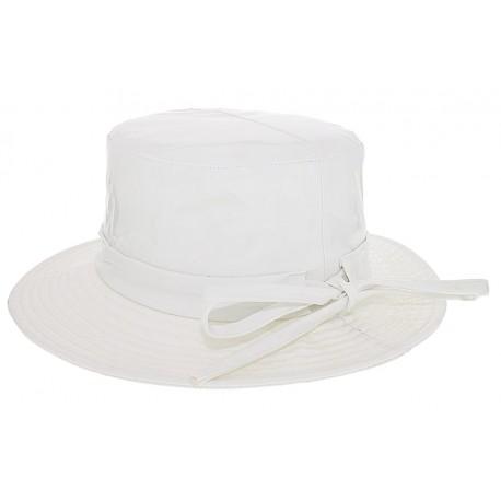 Chapeau imperméable Rain Ema Blanc