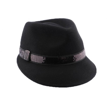 Chapeau Feutre City en coloris Noir