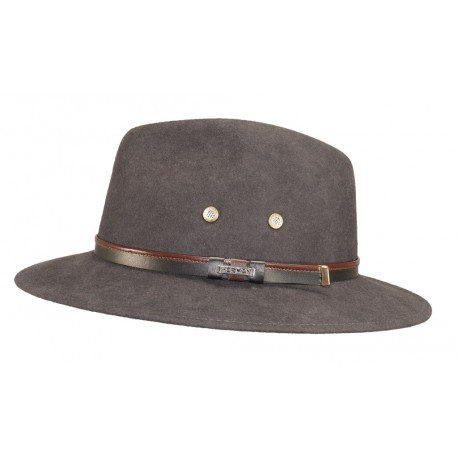 Chapeau de feutre Maccarthy Taupe