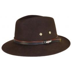 Chapeau de feutre Maccarthy Marron