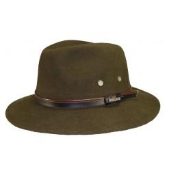 Chapeau de feutre Maccarthy Kaki