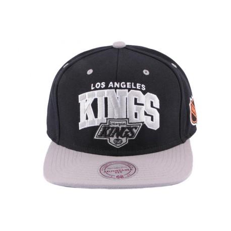 Snapback Los Angeles Kings Mitchell & NessNoir et Grise