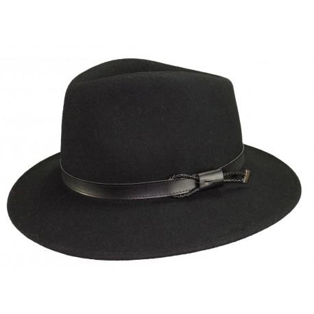 Chapeau feutre Mackinsley Noir