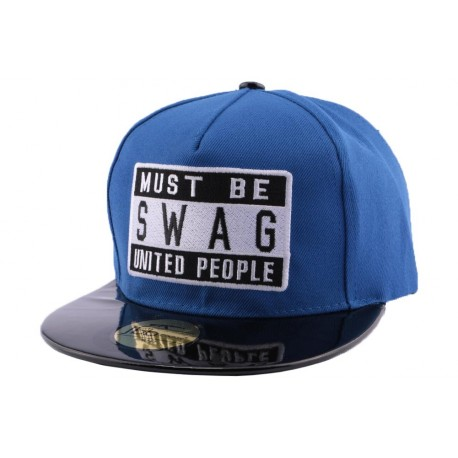 Snapback JBB Couture Swag Bleu