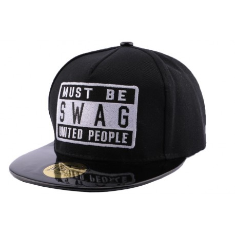 Snapback JBB Couture Swag Noir