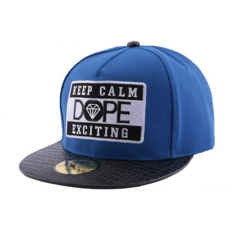 Snapback JBB Couture Dope Bleu