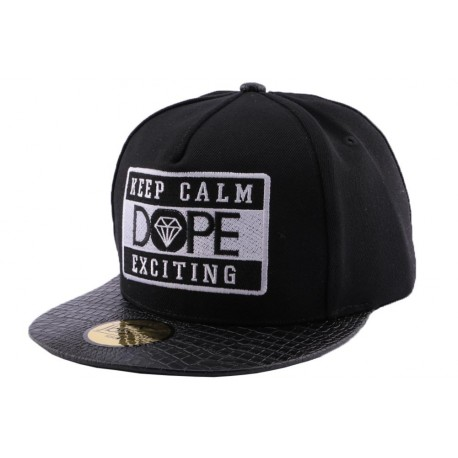 Snapback JBB Couture Dope Noire