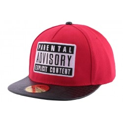 Snapback JBB Couture Parental Rouge