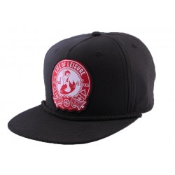 Snapback Goorin bros Life of leisure Noire