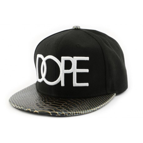 Snapback Hip Hop Noire Dope ANCIENNES COLLECTIONS divers