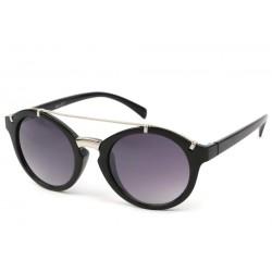 Lunettes Soleil Diva monture noire et argent LUNETTES SOLEIL Eye Wear