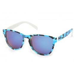 Lunettes Soleil Fool Love monture Bleu et Noire