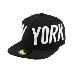Snapback Coke Boys Noire New York CASQUETTES COKE BOYS