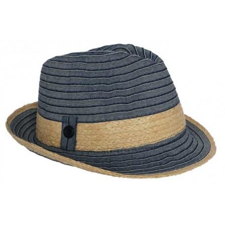 Chapeau Trilby Karsen Bleu
