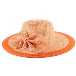 Chapeau Paille Lubly Orange