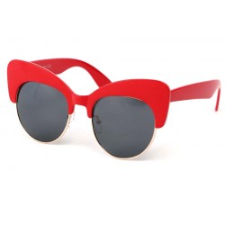 Lunettes Soleil Maryline avec monture Rouge LUNETTES SOLEIL Eye Wear