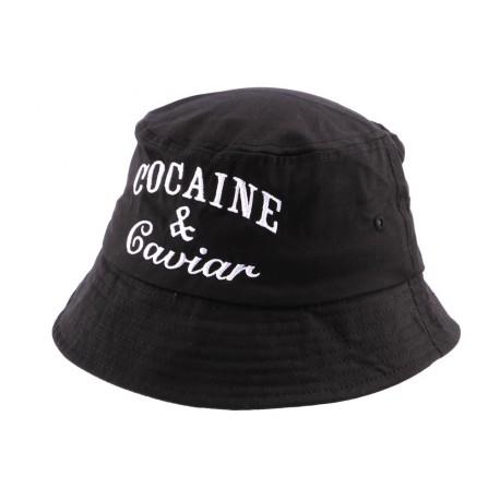 Bob Streetwear Noir Brodé Caviar ANCIENNES COLLECTIONS divers