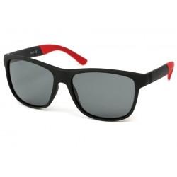 Lunettes Polarisante Oasis avec monture Noire et Rouge