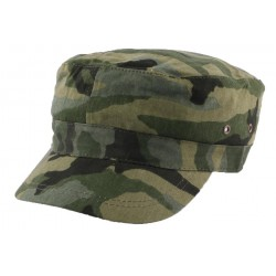 Casquette Army Camouflage Vert CASQUETTES Nyls Création